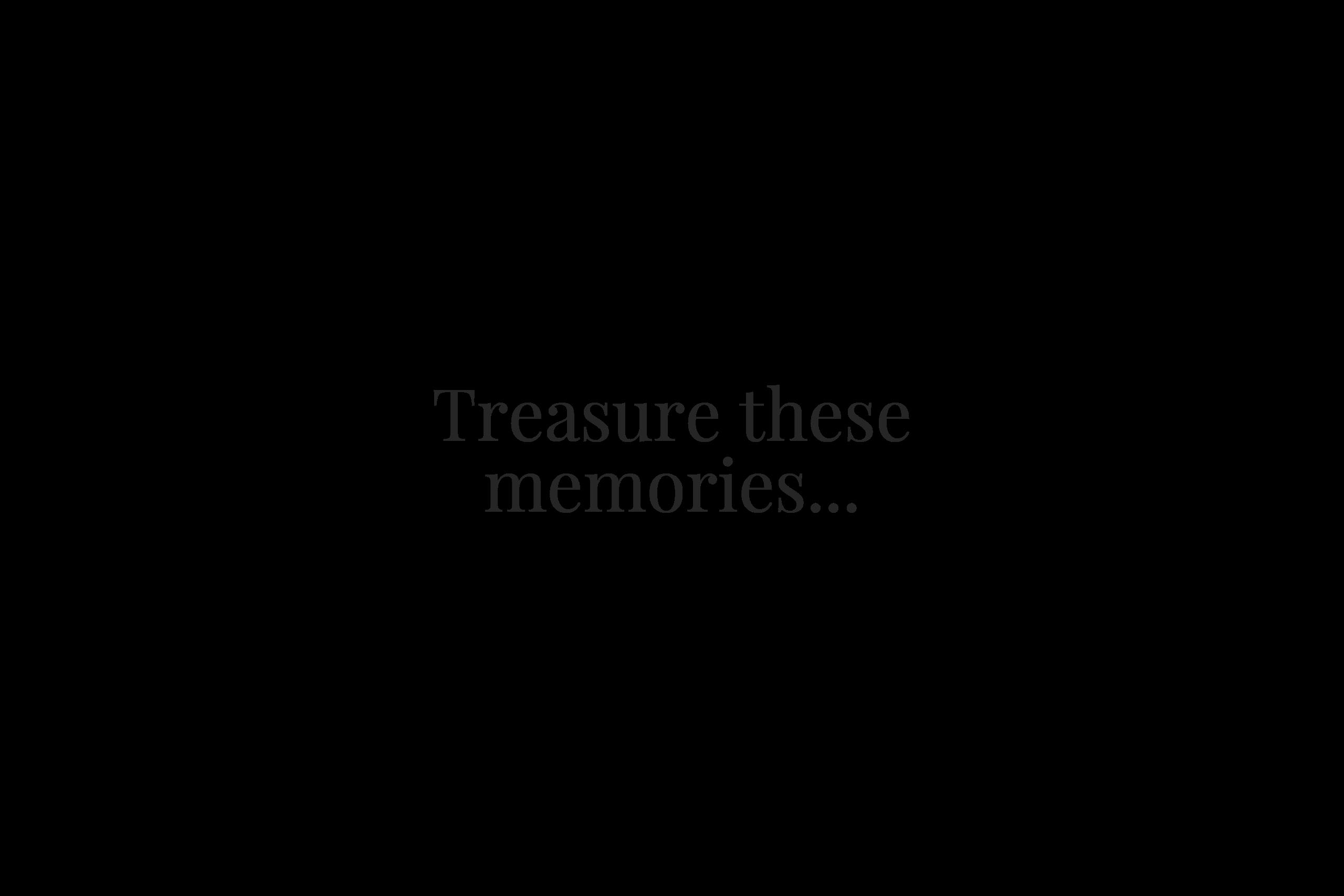 Treasure These Memories - Video Tributes